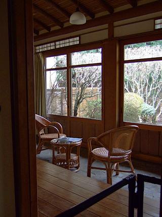 箱根の「和の宿 俵石閣」