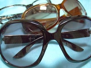 紫外線対策 サングラス