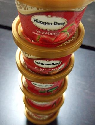 ハーゲンダッツのアイス