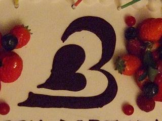 ロゴ ケーキ