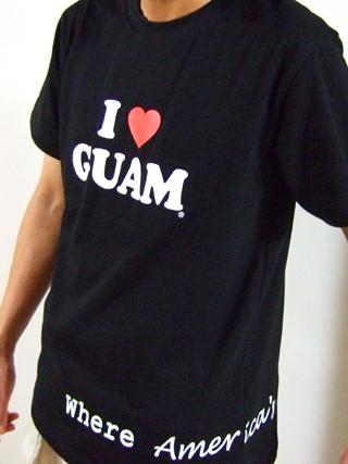 GUAMのTシャツ